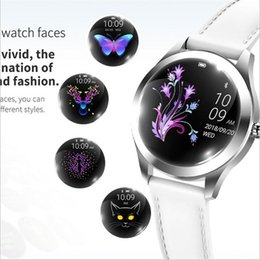 Smart Watch Ios Heart Sleep Australia - 696 KW10 Fashion Smart Watch Women Lovely Bracelet Heart Rate Monitor Sleep Monitoring Smartwatch connect IOS Android PK S3 band