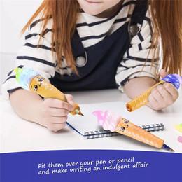 $enCountryForm.capitalKeyWord Australia - Newest Jumbo Soft Squishy pen Stationery student pencil quality panda squishy toys Pendant Anti Stress Kid Cartoon Decompression Toy
