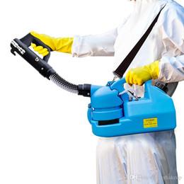 US / EU 110V / 220V ULV en frío nebulizador pulverizador de mochila ULV Nebulizador ULV pulverizador atomizador pulverizador insecticida Desinfección máquina del asesino del mosquito en venta
