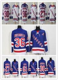Mens cheap 30 Henrik Lundqvist jersey 27 Ryan McDonagh 36 Mats Zuccarello  61 Rick Nash New York Rangers 557f51538