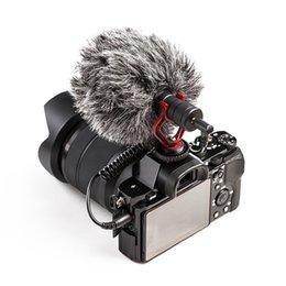 Microphone For Dslr Camera Australia - Microphone Video Interview Mic for DSLR Camera for iPhone Andriod Phone Tablet PC Macbook JLRL88