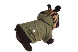$enCountryForm.capitalKeyWord Australia - 10PCS Pet Winter Clothes Soft Warm Dog Coat Clothing Shirt Sweater Pet Dog Clothes Army Green 6 Sizes