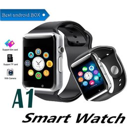 $enCountryForm.capitalKeyWord Australia - Smartwatch A1 apple watch Bluetooth smartwatch WristWatch Sport Pedometer Calls with SIM Camera Smart watch for Android Smart phone EXCTA1