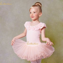 $enCountryForm.capitalKeyWord Australia - Pink white Ballet Tutu Dance Dress 2-9 Years Girls Cotton Leotard Child Professional Tutu Ballet Dance Ballerina Costume For Kid