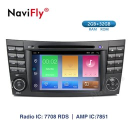 Navifly! Android 9.1 Araba dvd Multimedya Oynatıcı Mercedes Benz E-sınıfı W211 CLS350 CLS500 CLS55 CLK W209 W463 GPS Radyo Canbus indirimde