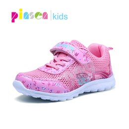 Sneakers Children Australia - 2019 Summer Breathable Children Shoes Girls Sneakers Comfortable Mesh Girl Sports Shoes Fashion Casual Kids Shoes For Girls Y19062001