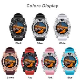 Bluetooth Smart Watch Sim Australia - Men Women Smart Watch WristWatch Support With Camera Bluetooth SIM TF Card Smartwatch For Android Phone Couple Watch