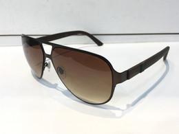 $enCountryForm.capitalKeyWord Australia - Luxury 2252 Designer Sunglasses For Men Brand Fashion Wrap Sunglass Pilot Frame Coating Mirror Lens Carbon Fiber Legs Summer Style