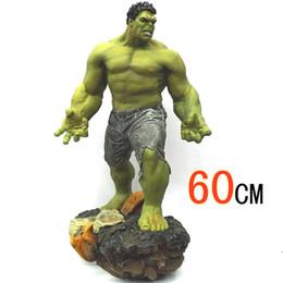 Giant Figure Australia - Super Size 1 4 Scale 60cm 8kg The Avengers 3 Hulk GREEN GIANT PVC Action figure Statue Collection model toy kids children gift