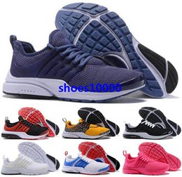 Discount presto air women air shoes Youth boys mens Trainers white Men Kids Runners Running Women presto Sneakers size us 5 12 46 Sports Tenis ten