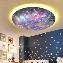 Cartoon Creative Pink Rudder Ceiling Lamp Girl Bedroom Childrens Room Lamp Mediterranean Led Starfish Ceiling Lamp Lights & Lighting Ceiling Lights