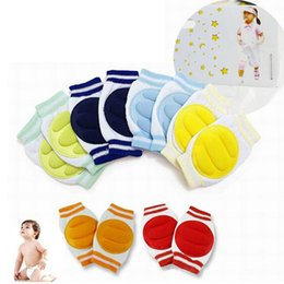 baby crawling leggings UK - High Quality Baby Knee Pads Protector Leg Warmers 5 Colors Stylish 1 Pair Kids Safety Crawling Elbow Cushion Infants Toddlers