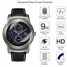 G Smart Watches Australia - New 9H HD Clear Premium Tempered Glass Screen Protectors Smart Watch for LG Urbane W100 G Watch R Watch 150 110