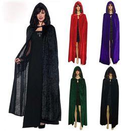 Nylon Coating Australia - custom made Bridal Wraps red poncho hoodie long dress long coat wool cloak cloak new dress up funny