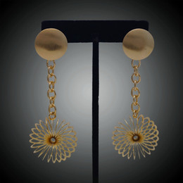 ExquisitE indian Earrings online shopping - Yulaili New Arrivals Hollow Flower Shape Drop Earrings Exquisite Earrings For Sweet Girls Gift Jewelry Sets