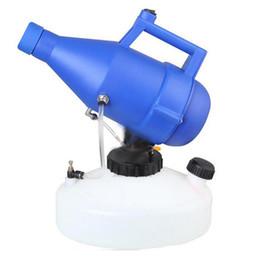 Venta al por mayor de 220V 1400W eléctrico ULV nebulizador pulverizador fría Nebulización 4.5L Ultra Bajo Volumen nebulizador esterilizador para la desinfección del atomizador