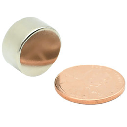 "Magnet Neodymium 12 Australia - N52 Ndfeb Magnet Disc Diameter 15x8 + -0.03mm 0.59"" Strong Neodymium Magnetic Axially Permanent Neo Rare Earth Magnet 12-1000pcs"