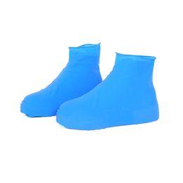 Water Proof Coatings Australia - Antiskid Waterproof Raincoat Set Rain Coat Shoe Boots Cover Water Playing Shoes