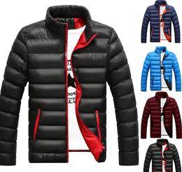 El otoño y el invierno para hombre de las chaquetas de alta calidad diseñador de moda de la personalidad color de la capa Matching más el tamaño M-4XL en venta