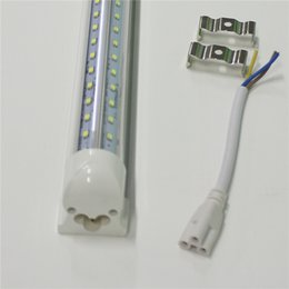 3ft led tube lamp UK - Europe T8 V-shaped LED Tubes Lights Integrated 2ft 3ft 220-240V AC85-265V 100LM W 2835SMD Bulbs Lamps Lighting Direct from Shenzhen China