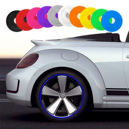 Wheeled Vehicle Australia - 10 Color 8M Roll New Car Styling IPA Rimblades Car Vehicle Color Wheel Rims Protector Tire Guard Line Rubber free shipping