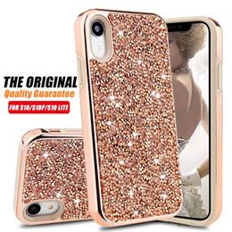9daa722c1 Premium Bling 2 In 1 Luxury Diamond Rhinestone Glitter Phone Case For iPhone  XR XS MAX X 8 7 6 Samsung S10 S10+