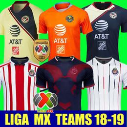 059f7a1ee Thailand 2018 2019 CHIVAS Club-Weltmeisterschaft LIGA MX Club America  CHIVAS Guadalajara UNAM TIGRES Fußball Jersey 18 19 Fußball