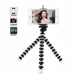 $enCountryForm.capitalKeyWord NZ - Flexible Octopus Tripod Phone Holder Universal Stand Bracket For Cell Phone Car Camera Selfie Monopod Gorillapod Tripods Phone Holder Clip