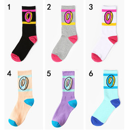 2d22d4f6dbfa 5Pair Lot 2019 new Harajuku hip hop skateboard odd future donut socks  ofwgkta men s socks Unisex sport cotton meias