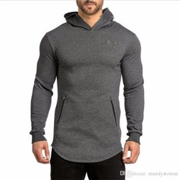 $enCountryForm.capitalKeyWord NZ - Hoodie Clothes Bodybuilding Fitness hoodies men Sweatshirt Clothing zipper Conventional Cotton gyms mens Sweatshirts Pullover