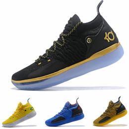 3deed3f828f Nuevo Kd 11 Zapatillas de baloncesto para hombre Negro Blanco Eybl Still  Emoji Twilight Pulse Kevin Durant 11s XI Chaussure Basket Ball Calzado  deportivo