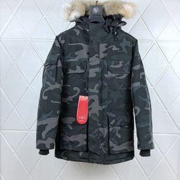 $enCountryForm.capitalKeyWord Australia - Fashion-Canada Autumn and Winter Warm Mens Designer New 90% Goose Down Slim Hooded Down Vest Thick Casual Mens Down Jacket