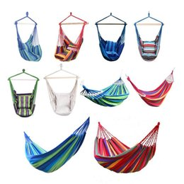 $enCountryForm.capitalKeyWord Australia - 16 Sets New Hammock Chair Hanging Chair Swing Seat With 2 Pillows For Indoor,Outdoor,Garden Support Dropshipping