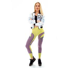 Face Leggings NZ - Girls Leggings Face Limits 3D Digital Full Printed Full Length Yoga Wear Pants Woman Sportwear Jeggings Lady Skinny Runner Trousers (Y52025)