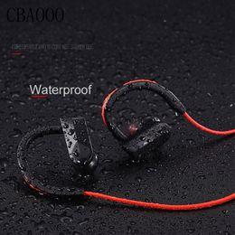 Wireless Headphones Mic Blue Australia - Sport Bluetooth Headphone Wireless Earphones Waterproof audifonos Bluetooth earphone Stereo bass Headset with Mic for xiaomi