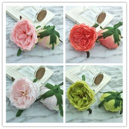 ImItatIon camellIa flowers online shopping - 1pcs New simulation camellia wedding supplies silk flower imitation flowers DIY shoes flowers corsage props