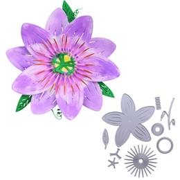 $enCountryForm.capitalKeyWord UK - Metal Cutting dies Flower Dies Layering Cutting Dies 2018 New Big Cutting die for Scrapbooking Photo album Paper card decoration