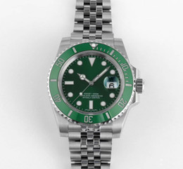 Luxury Diving Watches For Men Australia - Luxury 904L Mechanical Watch For Men V9 Factory Top Quality Eta 3135 Automatic Wristwatches Mens Ceramic Bezel 116610 Diving Watches