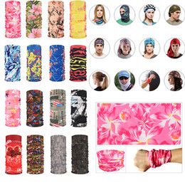 face mask characters 2021 - Fashion Outdoor Bicycle Half Face Masks Designer Cycling Bandanas Scarf Printing Solid Headband Mutilfunction Headwear Head Scarves Mask