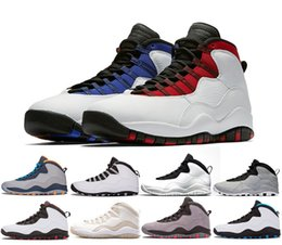 Cool Packs Australia - Fashion 10 10s Westbrook Basketball Shoes Tinker Brand Designer I'm Back GS Cool City Pack Sport 10 Shoe sneakers Cement Chicago Trainers