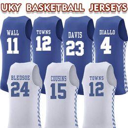 b35f773ee 2019 Kentucky College 1 BOOKER 23 DAVIS Camisetas de baloncesto camisetas,  MENS 3 ADEBAYO 11WALL 0 FOX 12 Tienda en línea de Towns para la venta