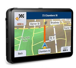 Gps Car Portable Australia - 8GB Portable GPS Navigation for car Widescreen 7 Inch Capacitive Touch Screen, Portable Navigator Built-in Latest Map Data and Free Lifetime