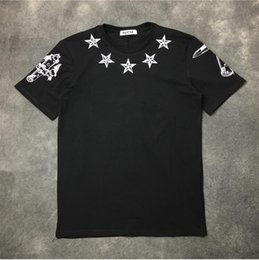 $enCountryForm.capitalKeyWord NZ - High High New Novelty 19ss Men High Stereo Star 74 T Shirts T-shirt Hip Hop Skateboard Street Cotton T-shirts Tee Top Top #40