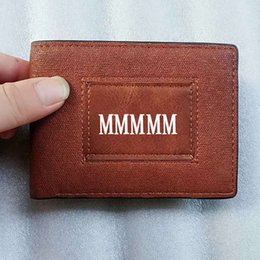 Chinese  M B Hot leather Men's Business Short Wallet MT Purse Cardholder Upscale Gift Box Card Case holder high quality classic leather purse manufacturers