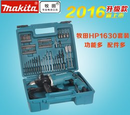 small hammers NZ - MAKITA HP1630 multifunctional mini electric drill impact drill hammer tool kit to turn a small electric torch