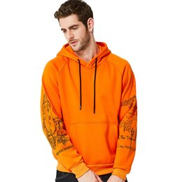 Clothing Dropshipping Australia - 2019 Sweatshirts Hoodies Men Autumn Winter Print Coat Men Casual Baseball Good Hoodies Pullover Hoody Male Clothing Dropshipping