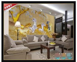 $enCountryForm.capitalKeyWord Australia - custom size 3d photo wallpaper livingroom mural Painted Carving Eight Juns Chinese Picture sofa TV backdrop wallpaper non-woven wall sticker
