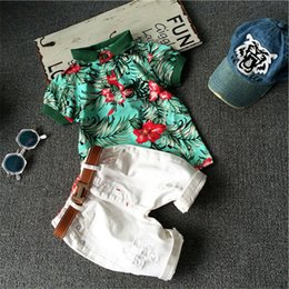 $enCountryForm.capitalKeyWord NZ - Hot sale! Summer style Children clothing sets Baby boys girls t shirts + shorts pants sports suit kids clothes