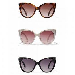 d7fc8d7a1d850 Drive rivets online shopping - Woman Vintage Rivet Cat eye Sunglasses  Fashion Driving Creative Eyewear Outdoor