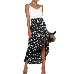 Chinese  NIBESSER Summer 2019 Kawaii Boho Bodycon Leopard Print High Waist Skirts Womens Midi Leopard Skirt Punk Streetwear Korean Style manufacturers